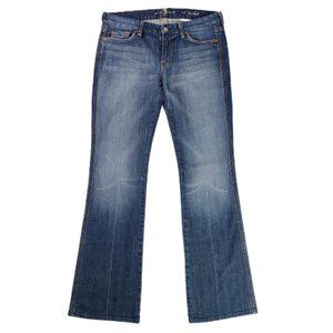 7 For All Mankind A Pocket Flared Jeans Size 30